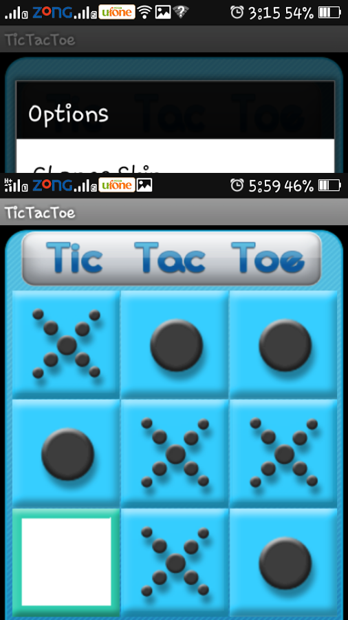 TicTacToe – an addicting game