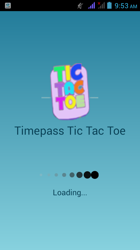 Timepass Tic Tac Toe