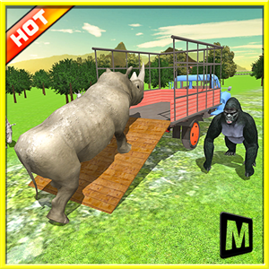 Transport Truck: Zoo Animals