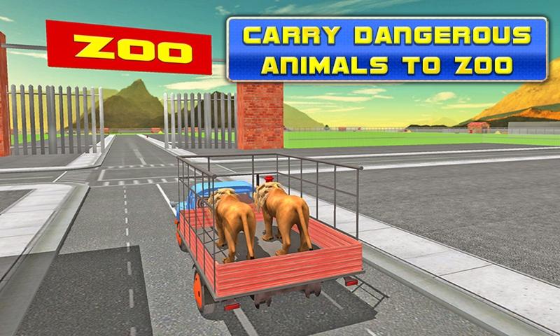Transport Truck: Zoo Animals