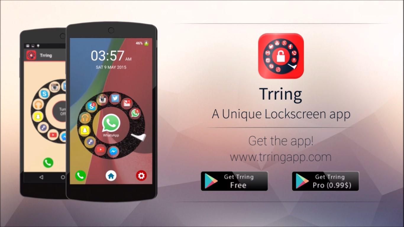 Trring Free – Lockscreen App