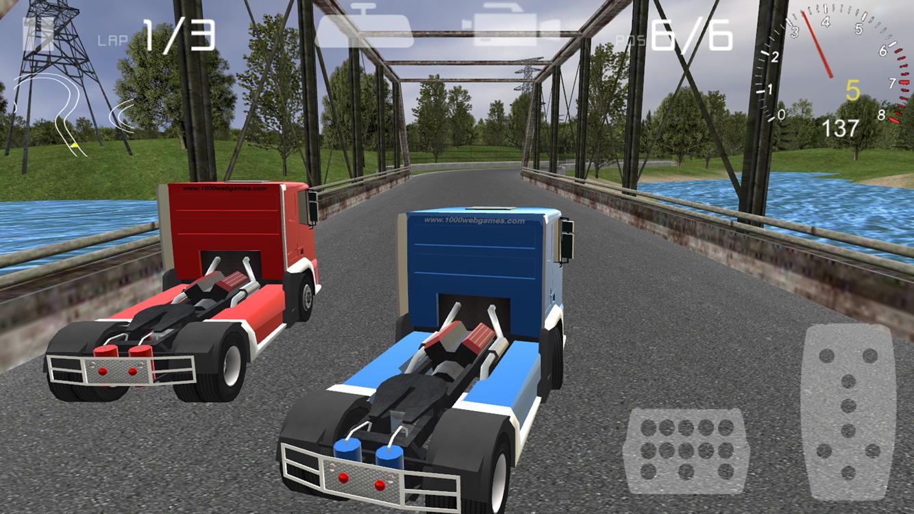Truck Drive 3D Racing