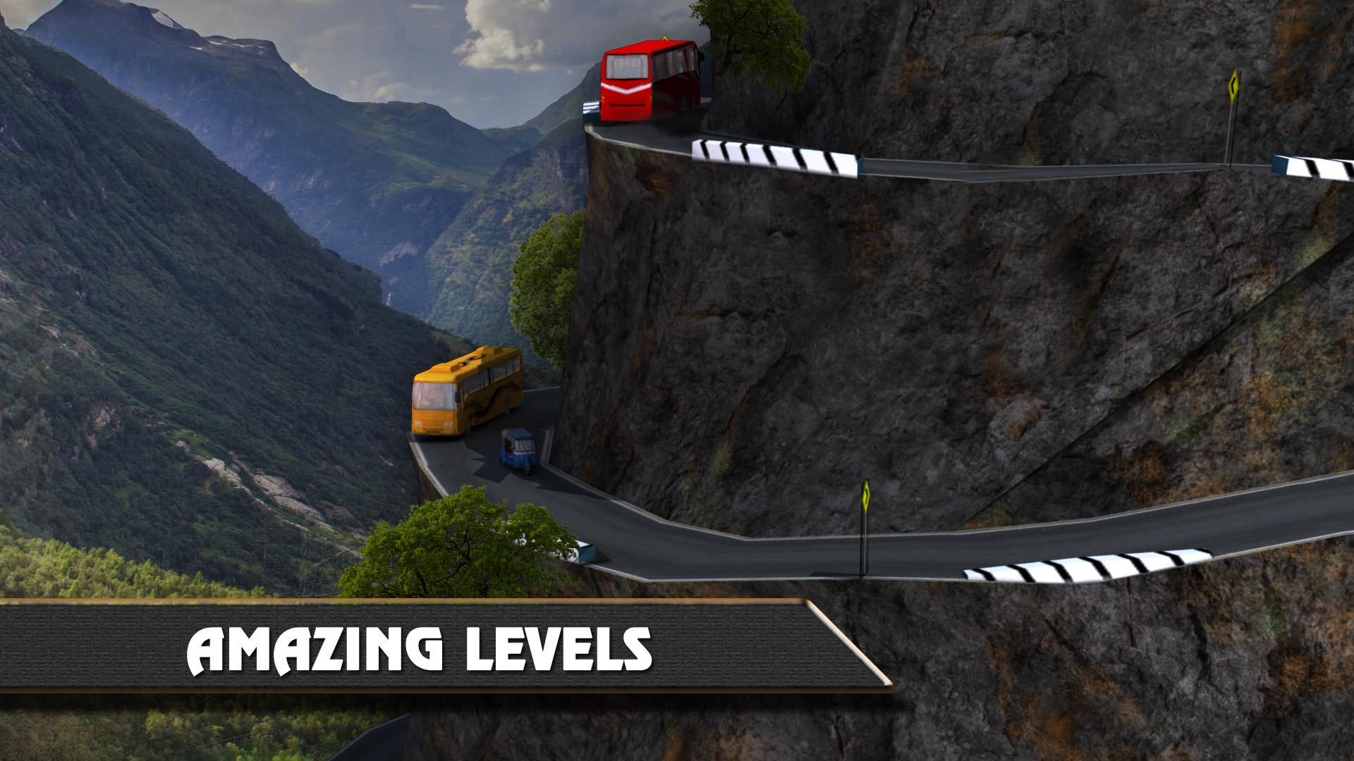 Tuk Tuk Hill Climbing 3D