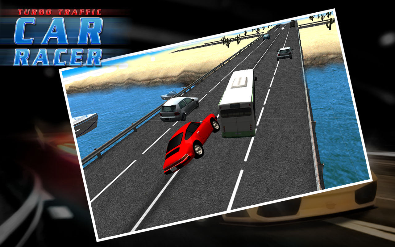 TURBO TRAFFIC CAR RACER