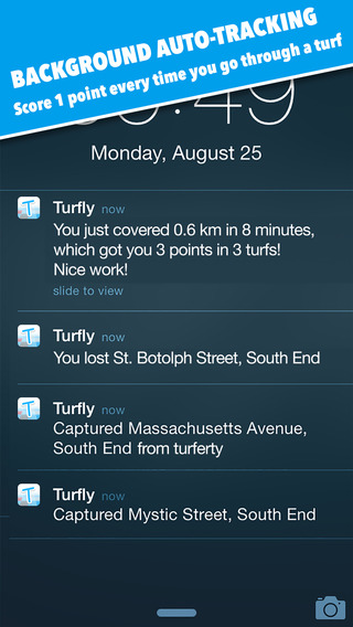 Turfly – the walking + running territory game