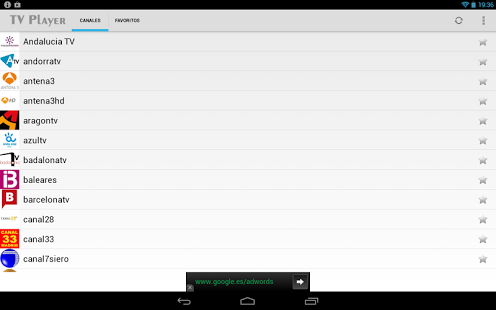 TV Player for Android