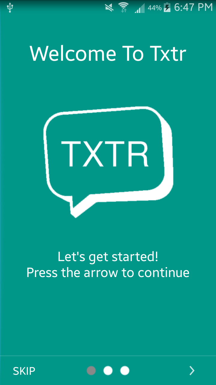 Txtr – A better way to text
