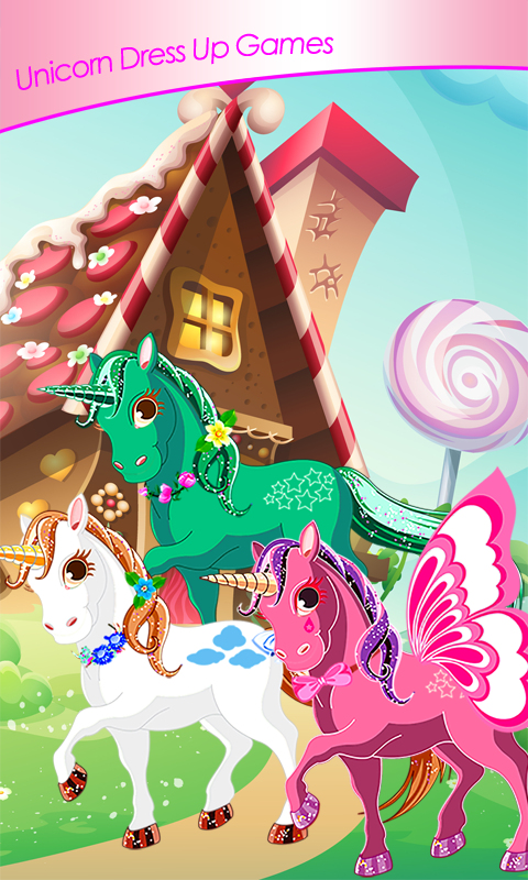 Unicorn Dress Up Games