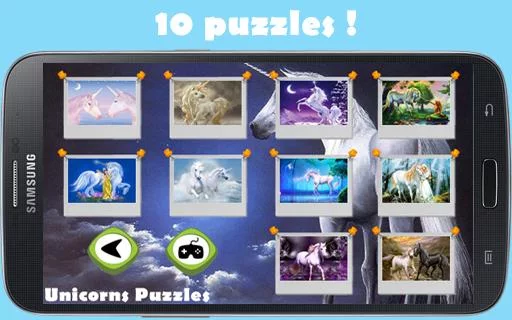 Unicorns Puzzles for girls