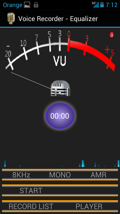 Voice Recorder with Equalizer