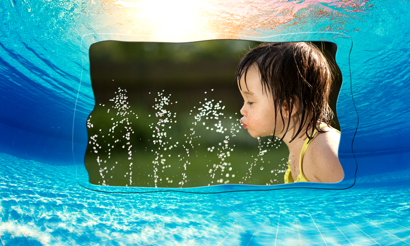 Water Photo Frame