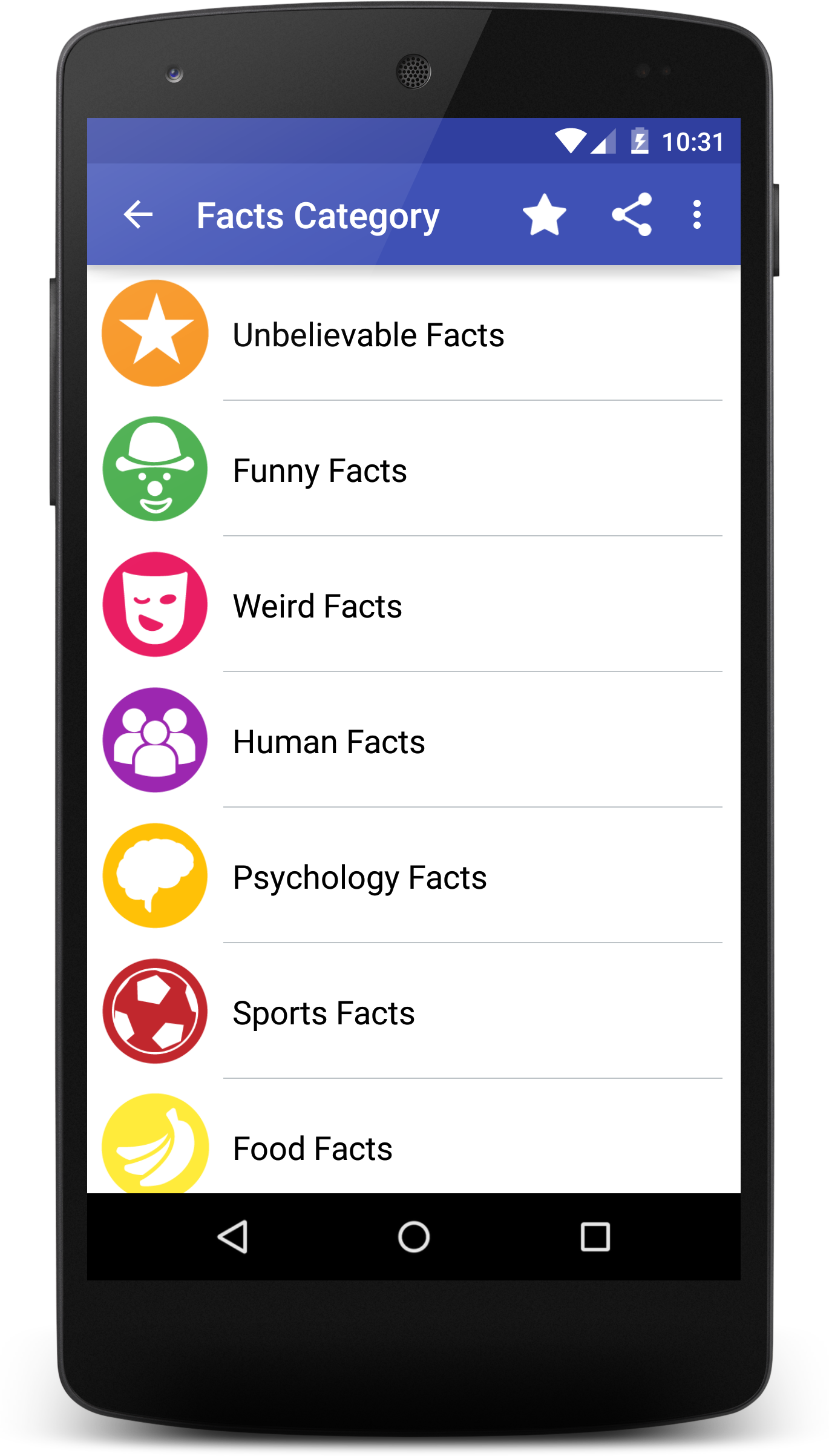 WhatTheFact – Best Facts App