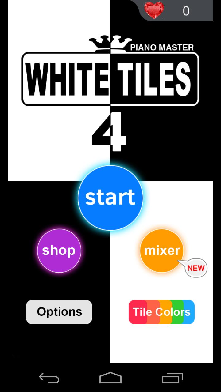 White tiles 4: Piano Tiles