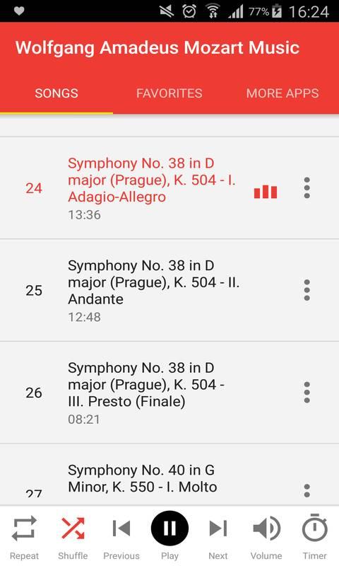 Wolfgang Amadeus Mozart Music