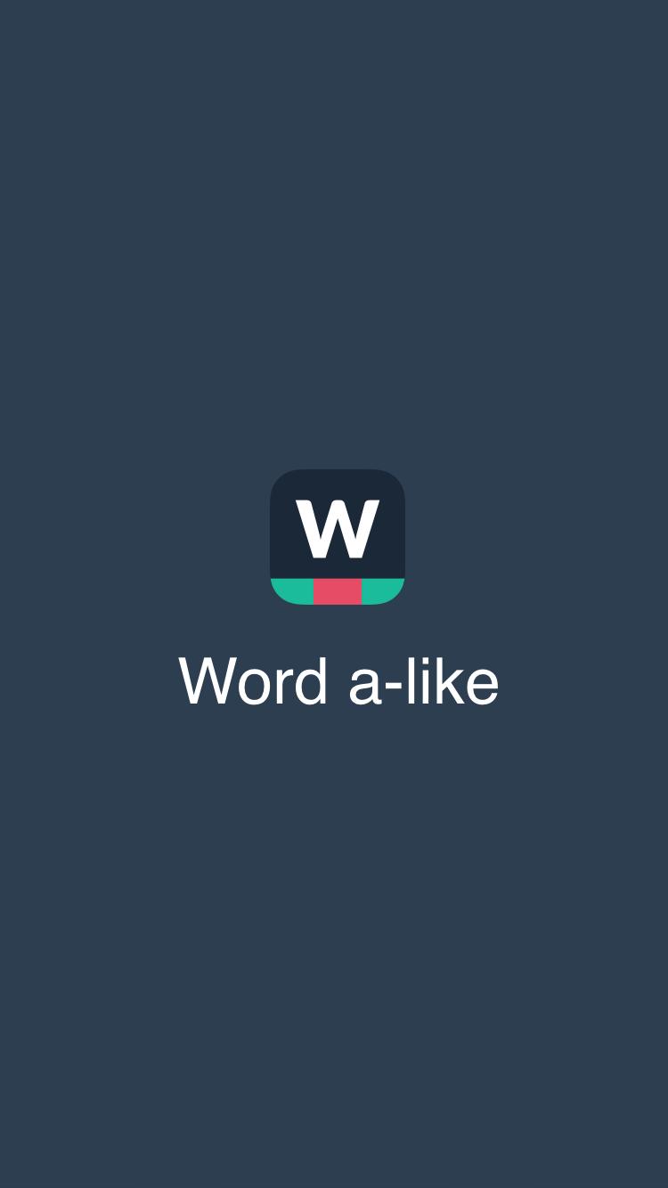 Word a-like