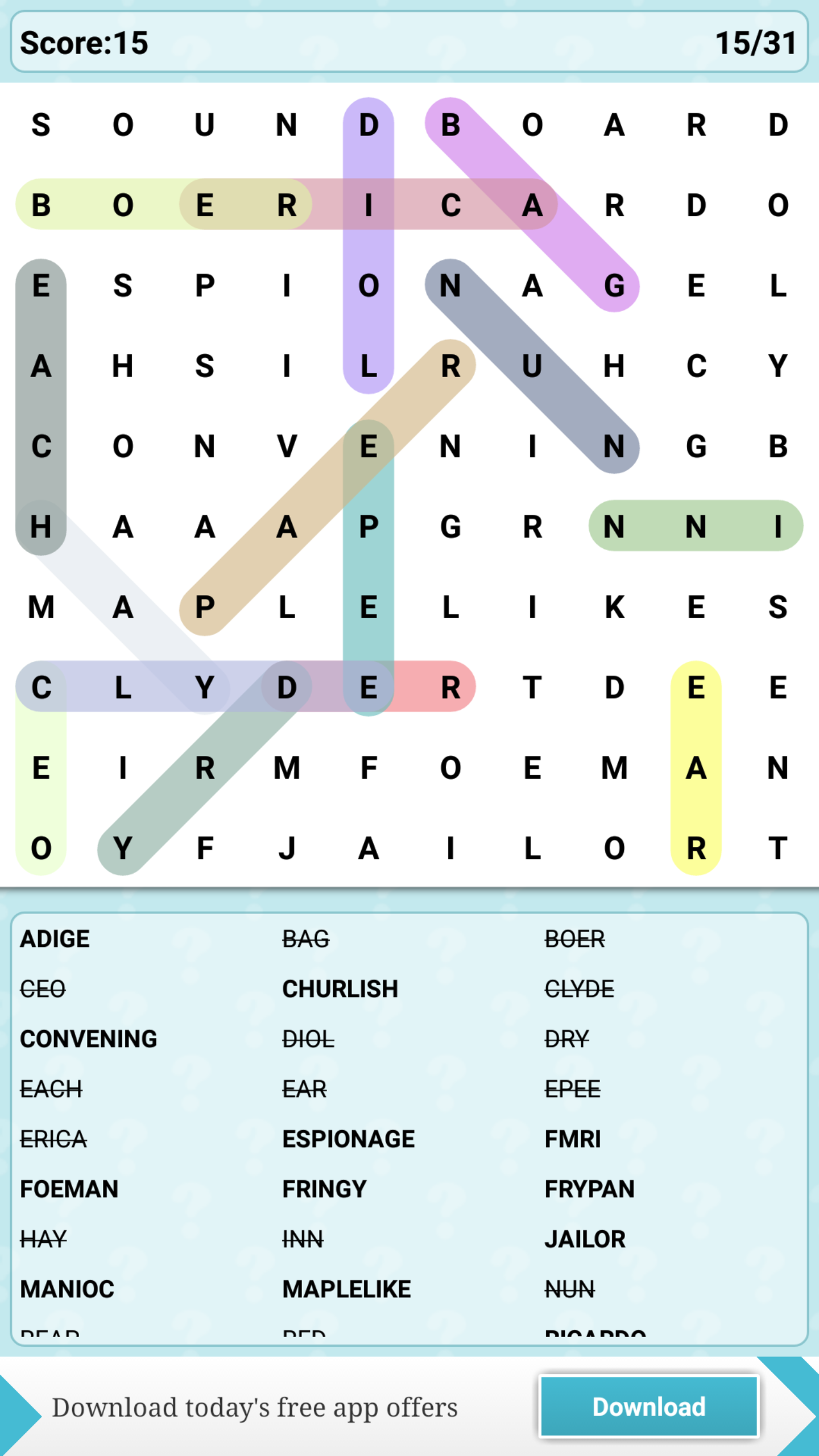 Word Search Adventure