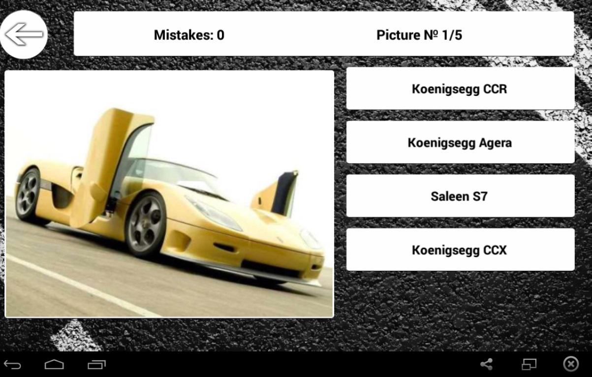 World Cars Quiz