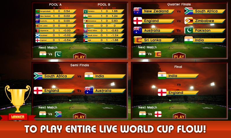 World Cricket League