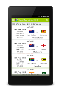 World Cup Mania 2015