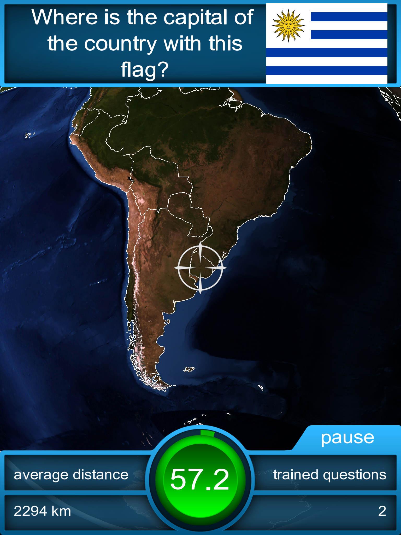 Worldquiz HD – the 3D geography quiz