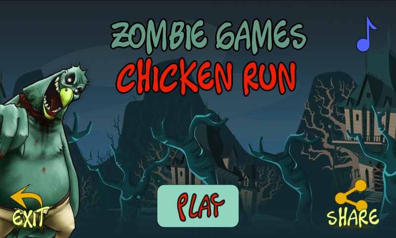 Zombie Games: Chicken Run