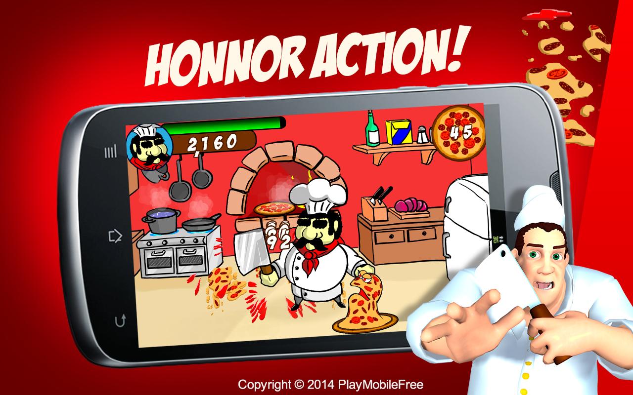 Zombie Pizza Fighting