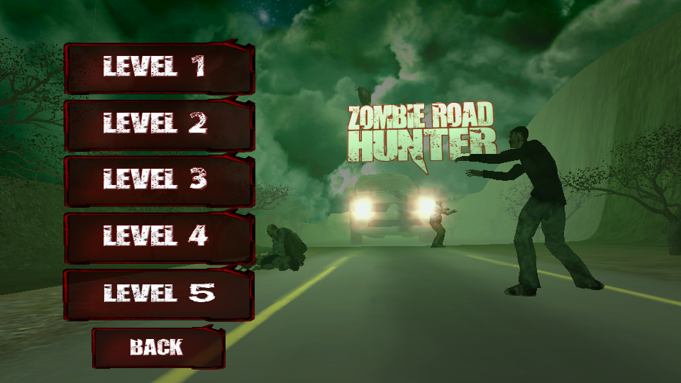 Zombie Road Hunter