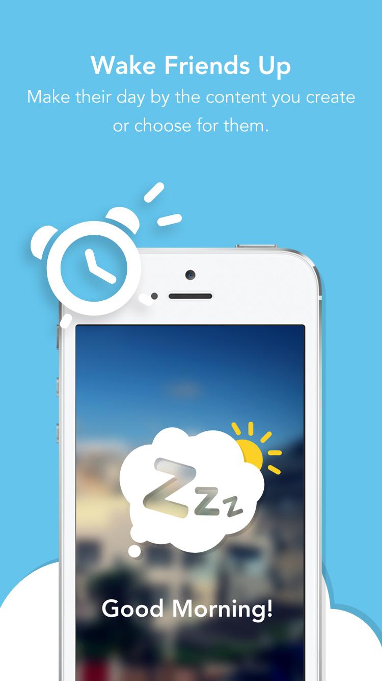 Zzzup - 2-Photo Morning Alarm
