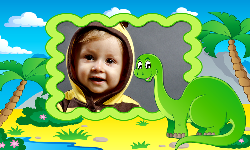 Baby Dinosaur Photo Frames