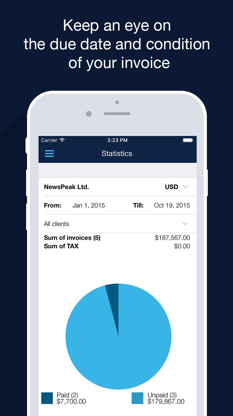 Billdu - Invoices & estimates for small business