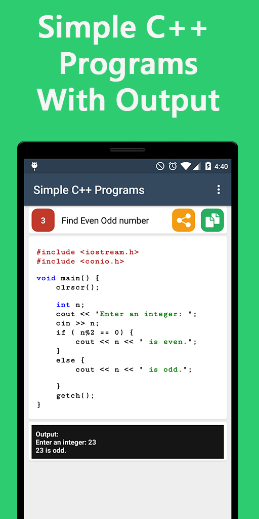 C++ Programs and Questions