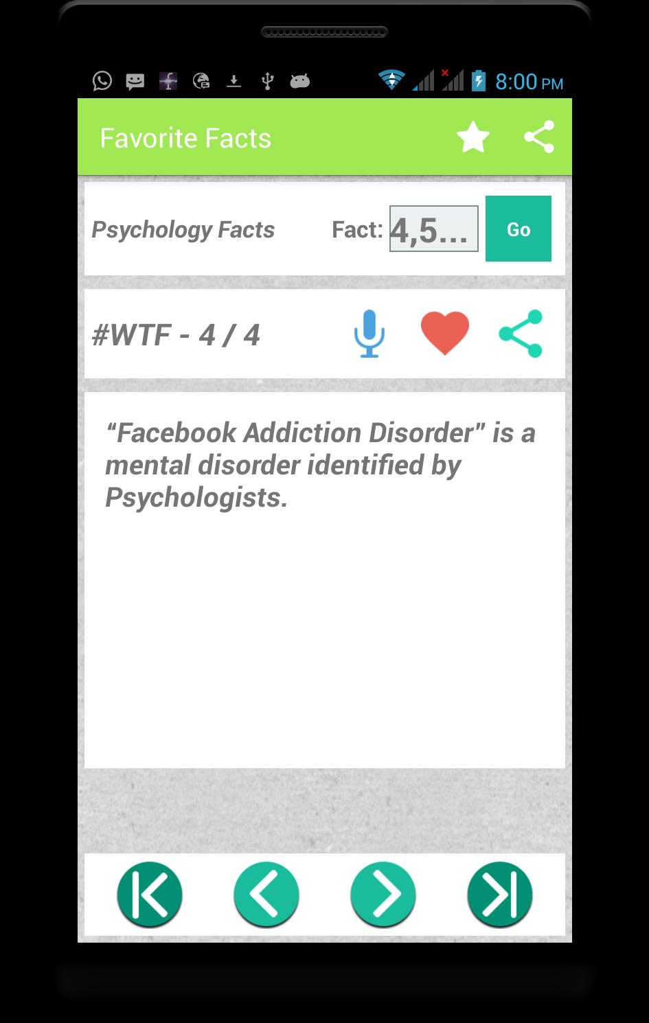 CfactWorld - Best Facts App