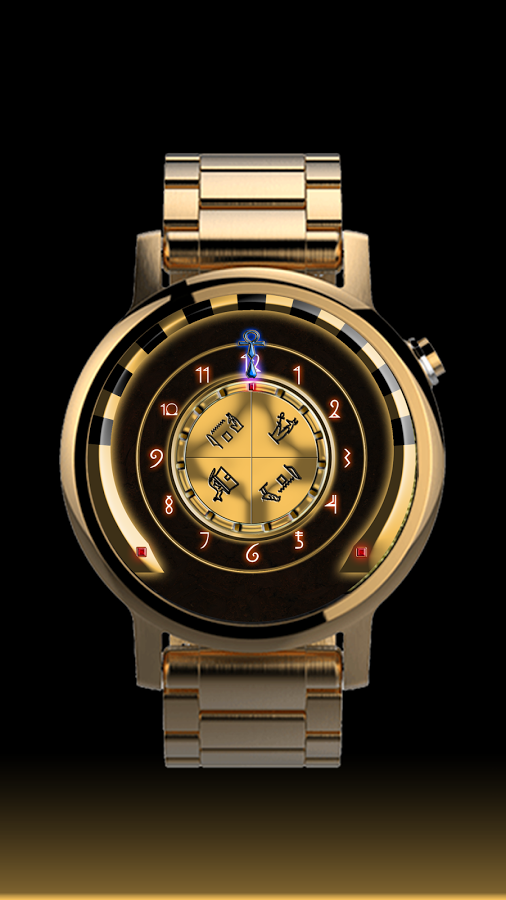 Chamber of Anubis Watch Face
