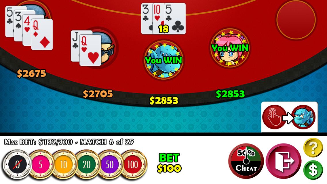 Cheaters Blackjack 21