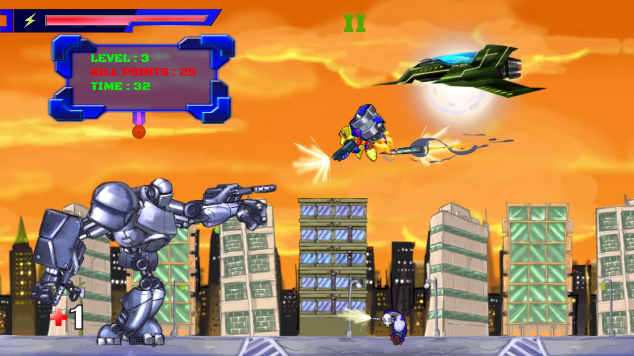 Evil Robot - Cyborg World