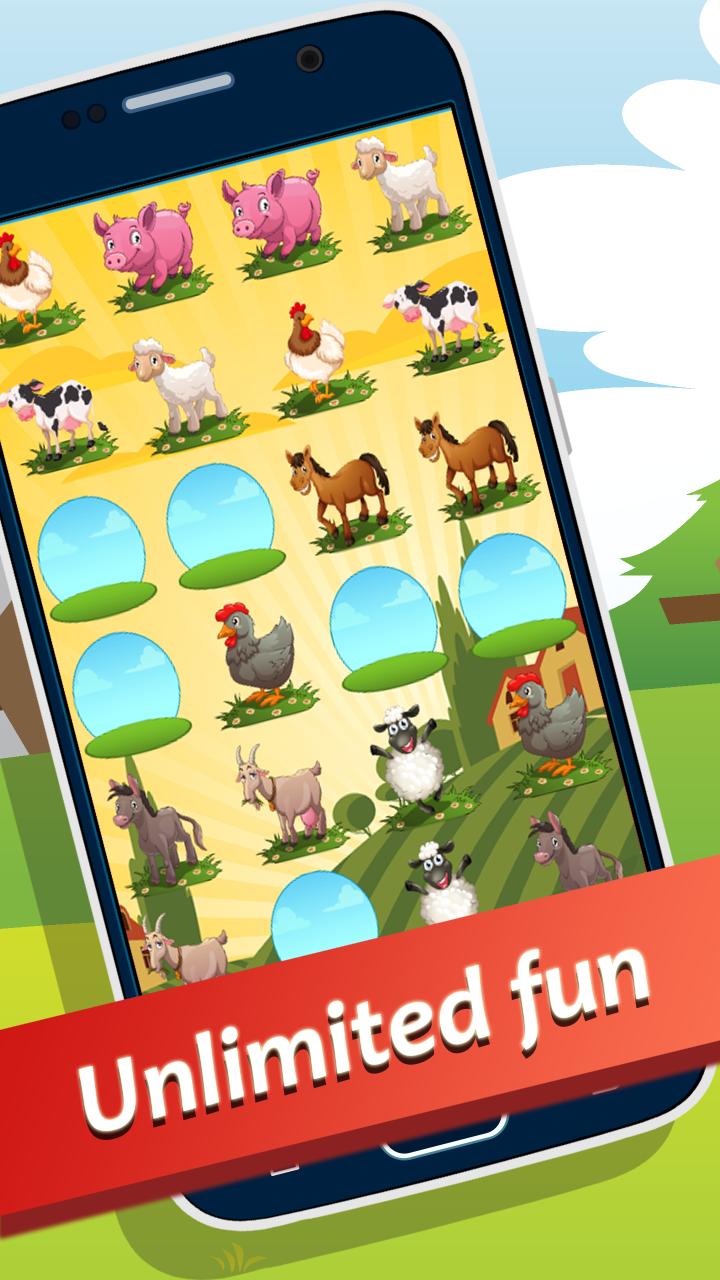 Farm Memory Game