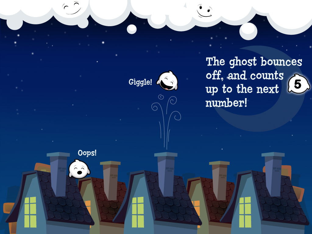 Giggle Ghosts: Counting Fun!
