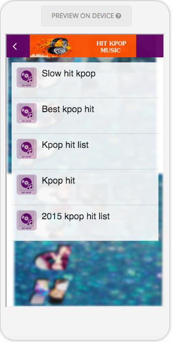 Hit Kpop Music