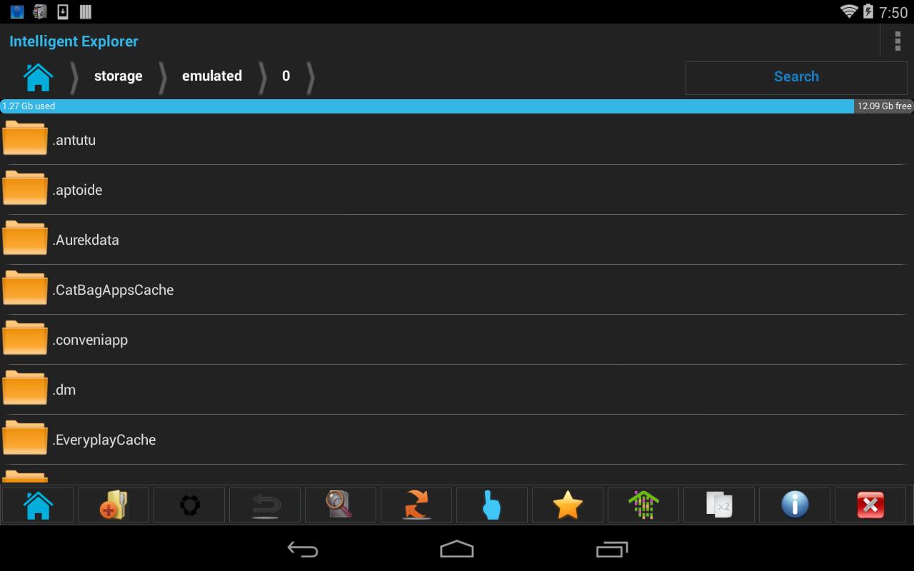 intelligent file browser