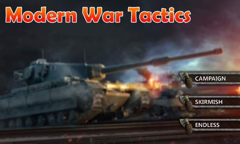 Modern War Tactics