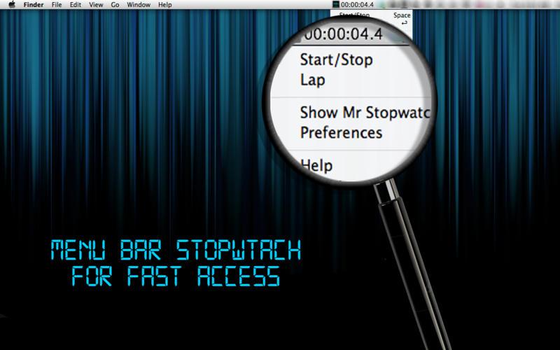 Mr Stopwatch