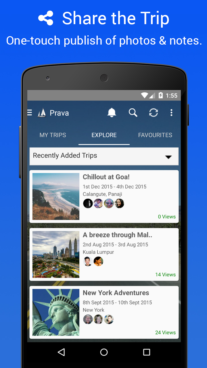 Prava - Group Travel Made Easy