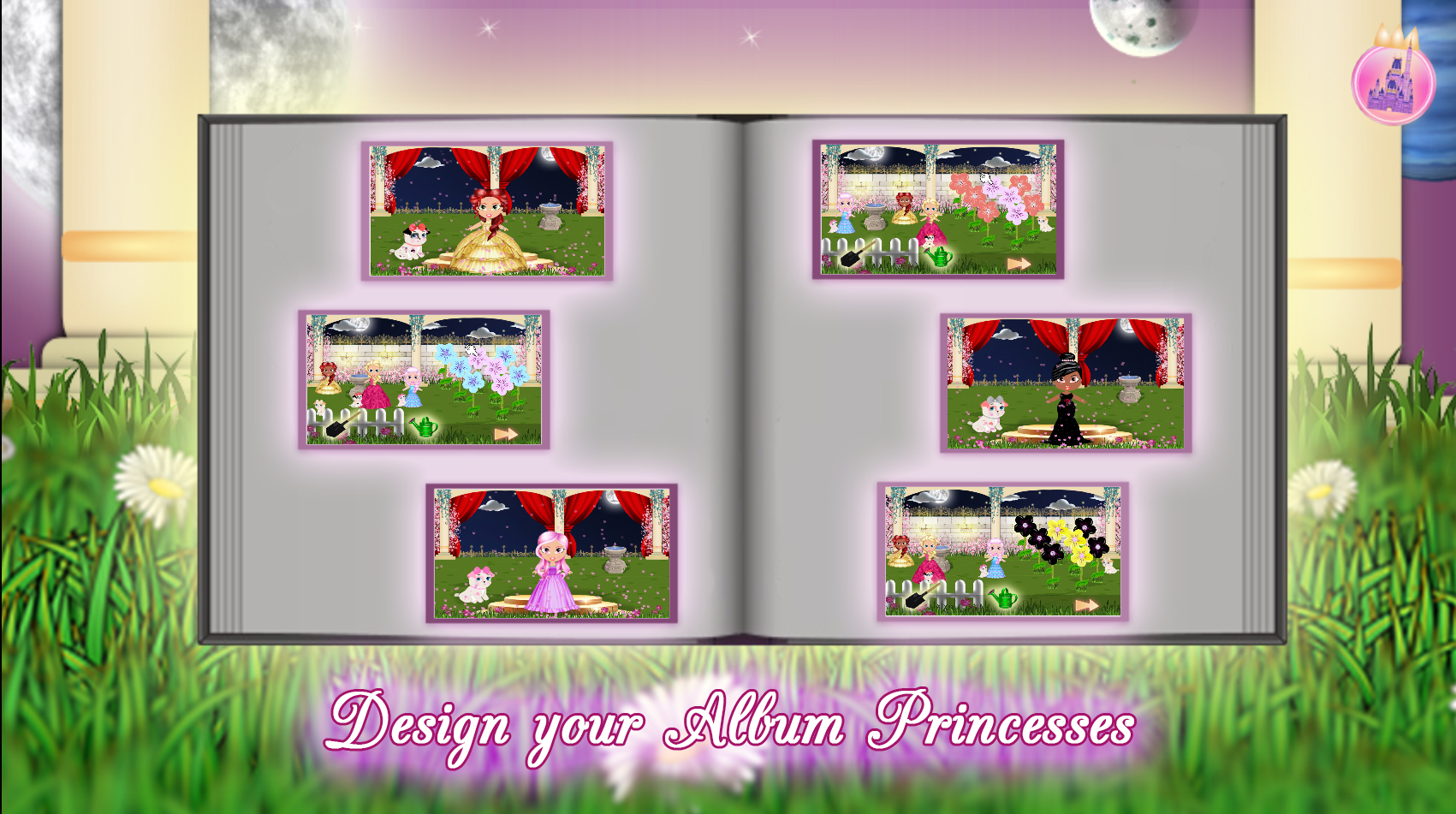 Princess Girl Fashion Castle