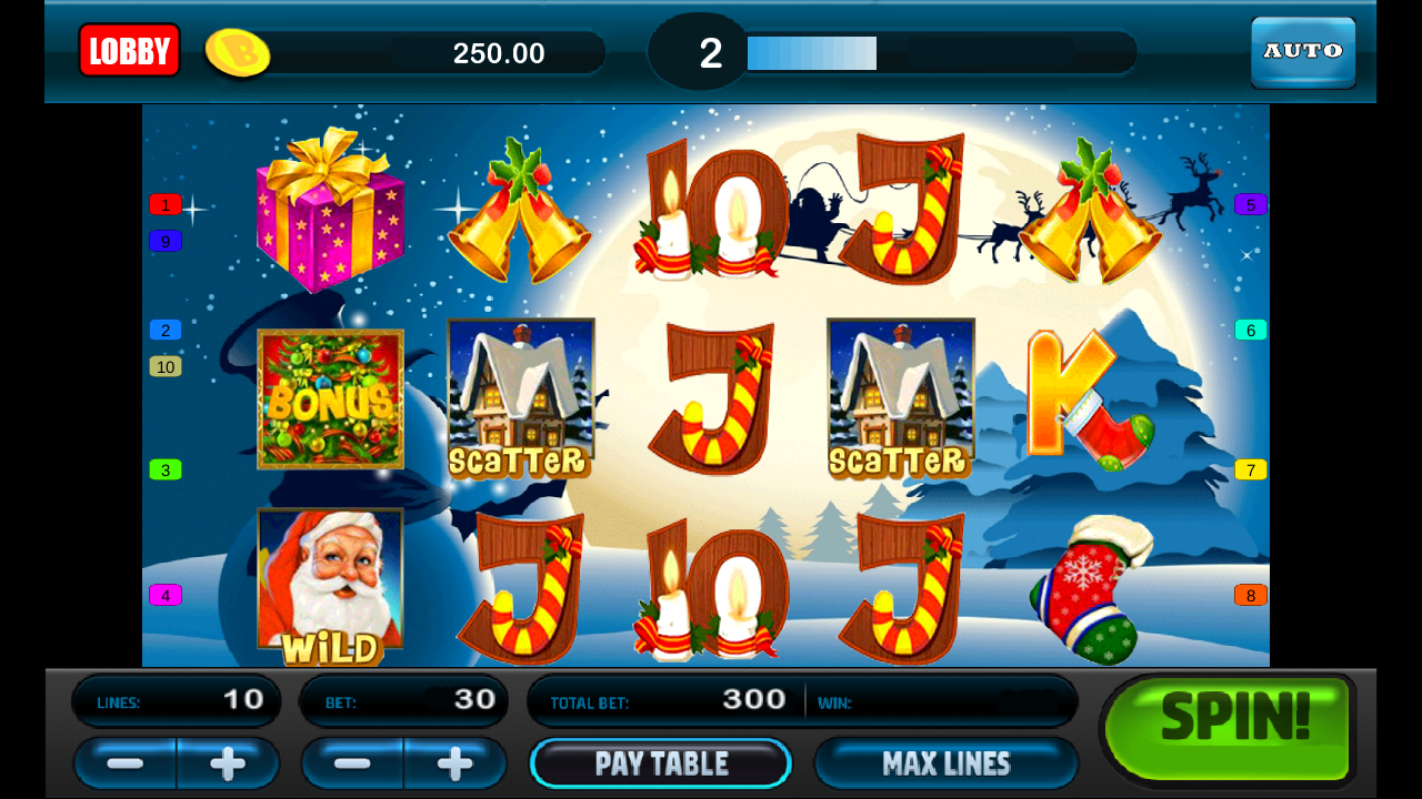 Santa Slots - Free Casino