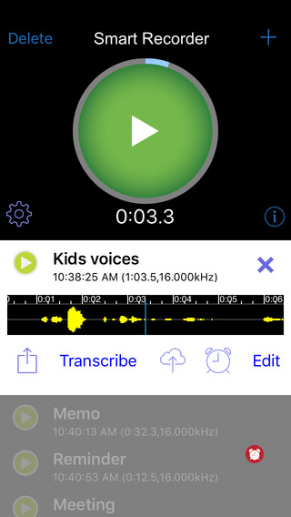 Smart Recorder/transcriber