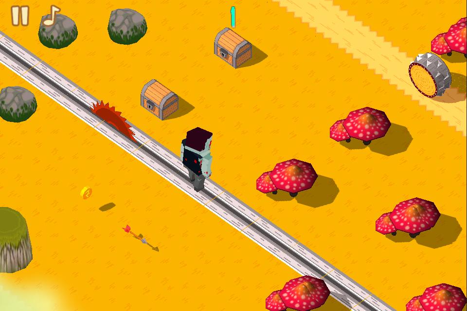 Zombie crossy road
