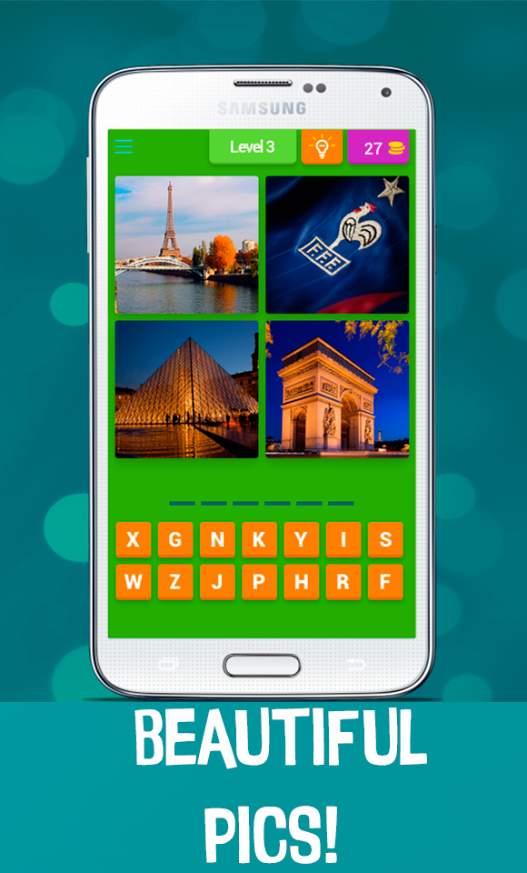 4 Pics 1 Word - Country Quiz