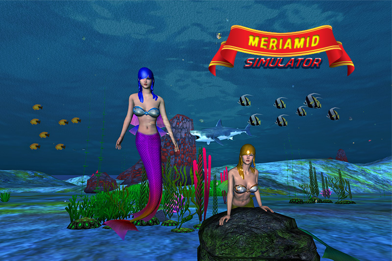Angry Mermaid Attack