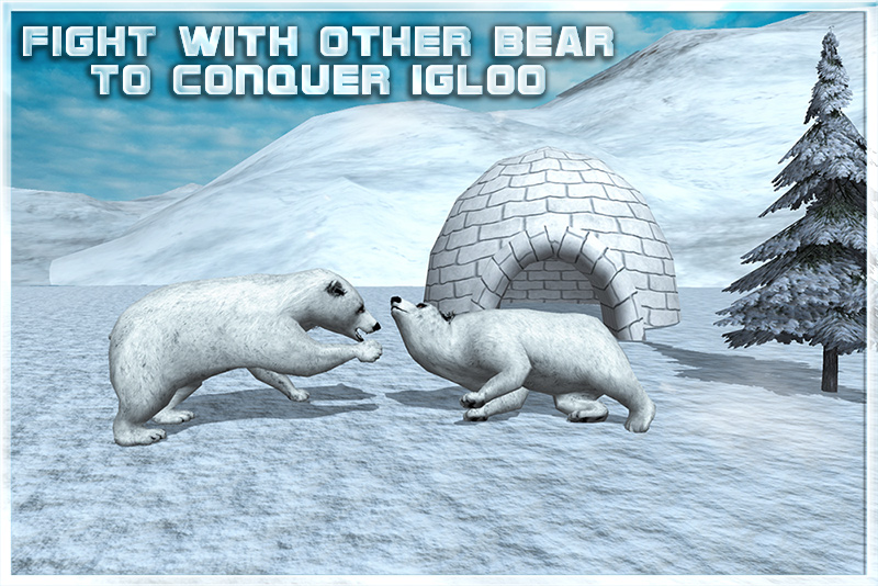 Angry Snow Bear Simulator 3D