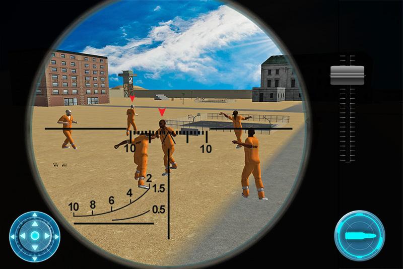 Army Sniper: Prison Assasin